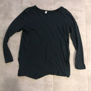 BP dark green tunic
